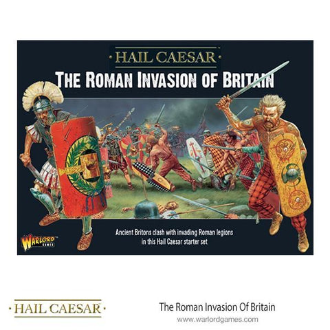Roman Invasion Of Britain Starter Army with Rules