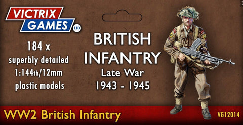 Late War British Infantry 1943-1945