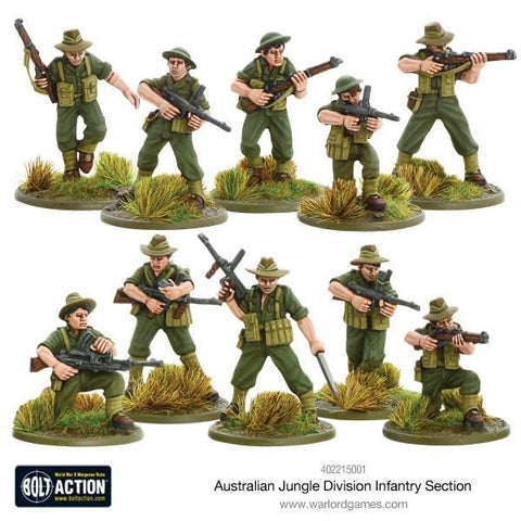 Australian Jungle Divn Infantry Section