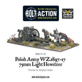 Polish Army 75mm Light Howitzer