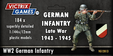 Late War German Infantry and Heavy Weapons
