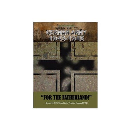 """For The Fatherland"". A Frontline Command expansion set"