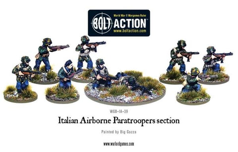 Italian Airborne Paratrooper Section