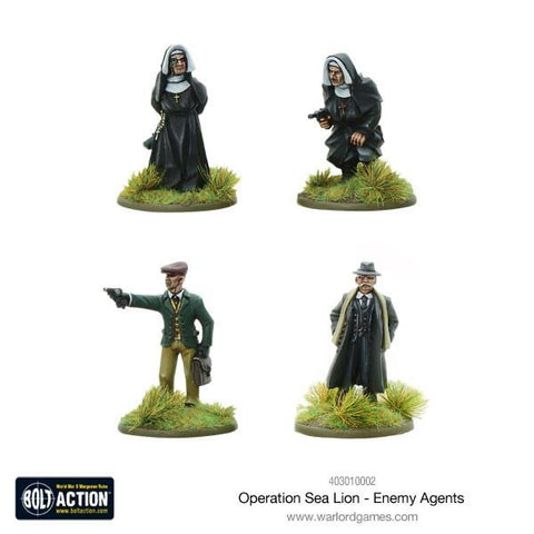 Operation Sealion, Enemy Agents