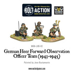 German Heer FOO team