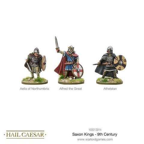 Saxon Kings 9th Century