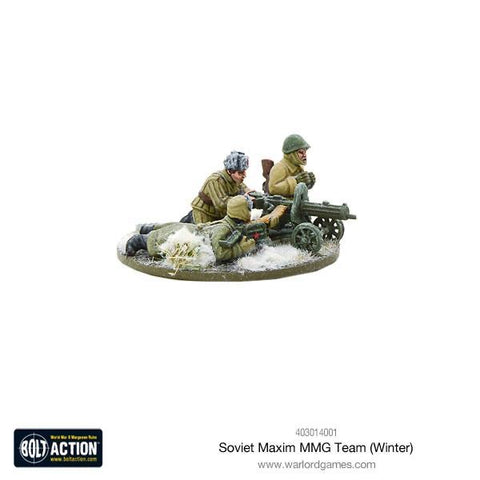 Soviet Army Maxim MMG Team (winter)