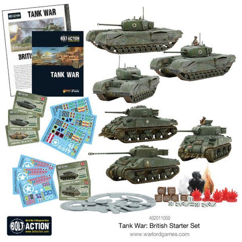 British Tank War Starter set
