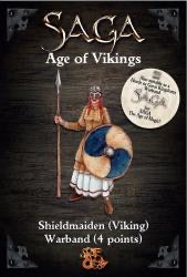Shieldmaiden 4 Pt Warband, Age of vikings