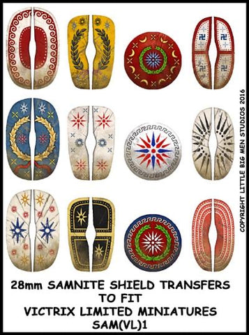 Samnite transfer sheet 1