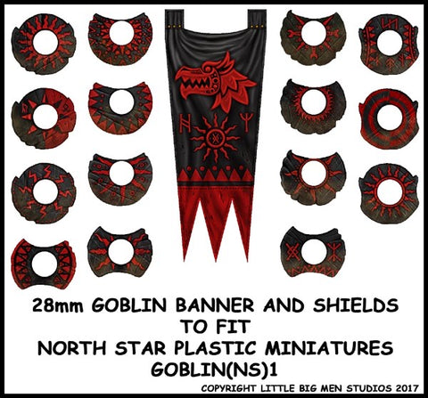 Goblin Banner and Shield Transfers 1