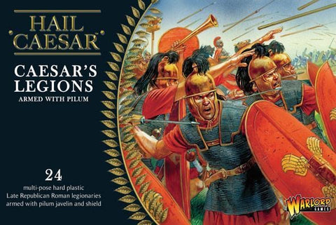 Caesar's Legions with Pilum