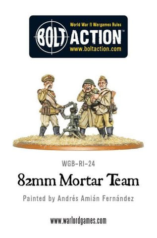 Soviet Army 82mm Medium Mortar Team