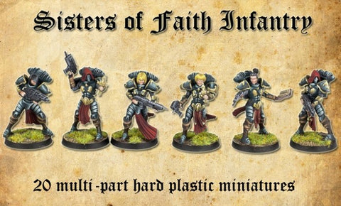 Sisters of Faith, (Female Space Paladins)