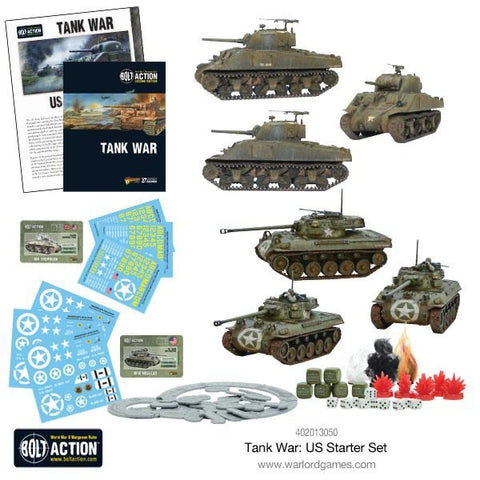 US Tank War Starter Set