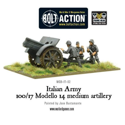 Italian Army 100/17 Modello 14 medium artillery