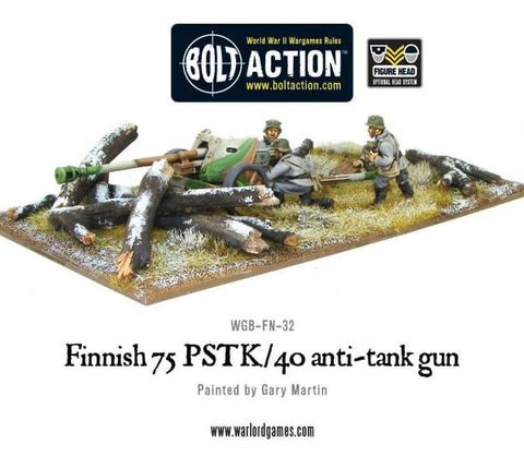 Finnish 75 pstk/40 anti tank gun