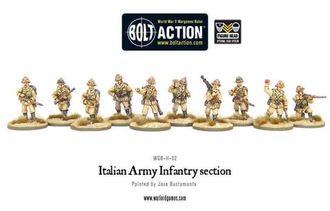 Italian Army Infantry Section     Desert / Europe / Africa