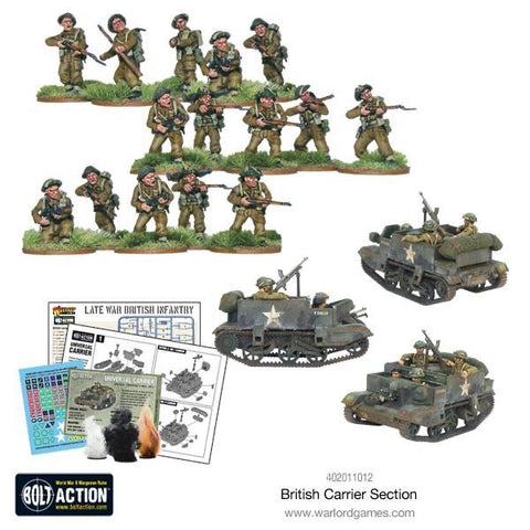 British Universal Carrier Section (3 vehicles)
