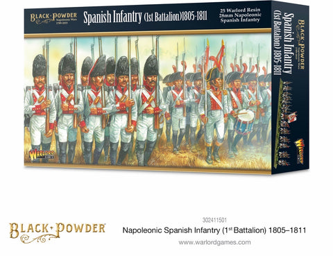 Spanish Infantry, 1st Battalion, 1805-1811