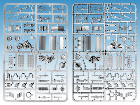 Implements of Carnage, Gaslands Weapons & accessories