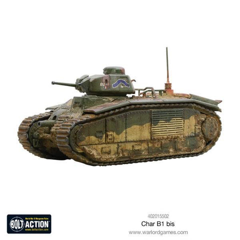 French Char B1 bis tank
