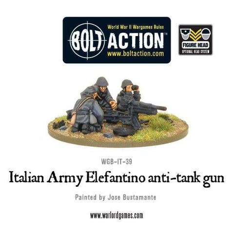 Italian Army Elefantino AT Gun