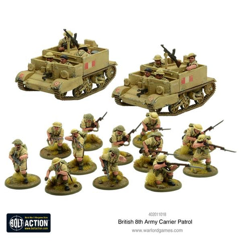 8th Army Carrier Patrol