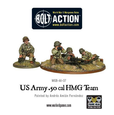 US Army .50 cal HMG team