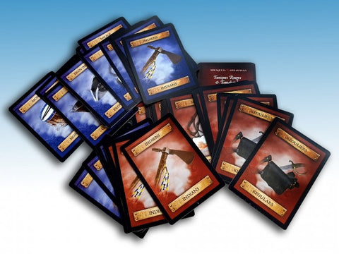 Redcoats and Tomahawks Card Deck