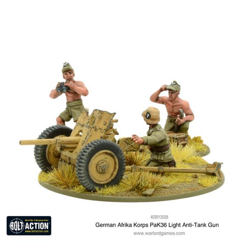 Afrika Korps pak 36 light AT gun