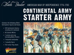 Continental Starter Army for the American Revolution