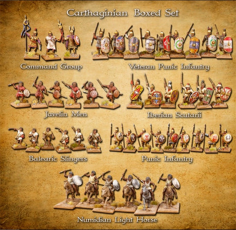 Clash Of Spears Carthaginian Warband