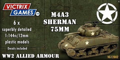 M4A3 Sherman 75mm