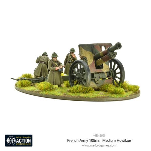 French 105mm Medium Howitzer