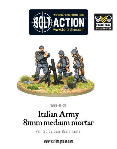 Italian Army 81mm Medium Mortar Team
