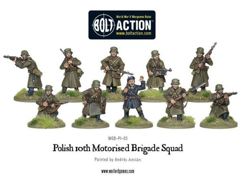 Polish 10th Motorised Infantry