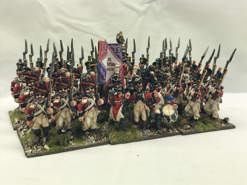 28mm Swiss Battalion 1812