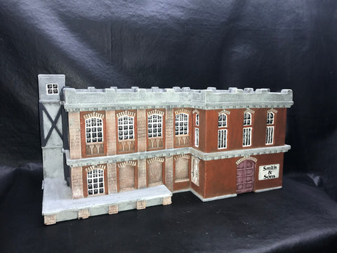 28mm Factory Building