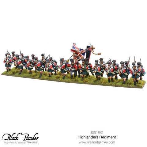Highlander Regiment, 1789-1815