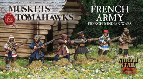French Army, French and Indian Wars