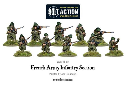 French Army Infantry Squad