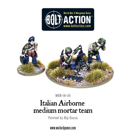 Italian Airborne 81mm Medium Mortar