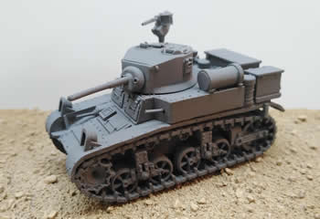 M3A1 Stuart Late Production