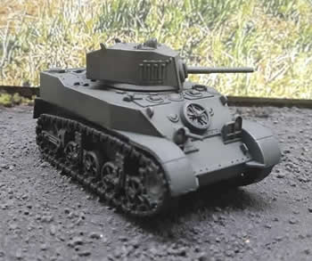 M5A1 Stuart {Mid Production}