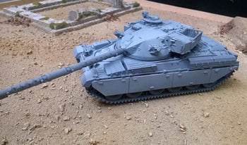 Chieftain Mk 7 British Tank