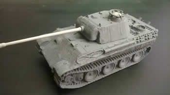 1/48 Panther G in Zimmerit