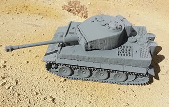 Tiger 1 Mid Production in Zimmerit