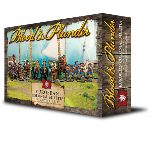European Colonial Militia Starter Set