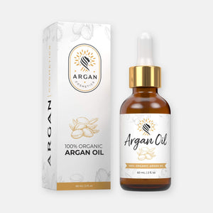 100% Organic Argan Oil and Box